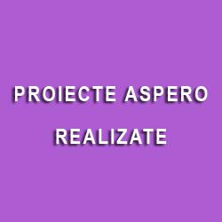 Proiecte Aspero realizate
